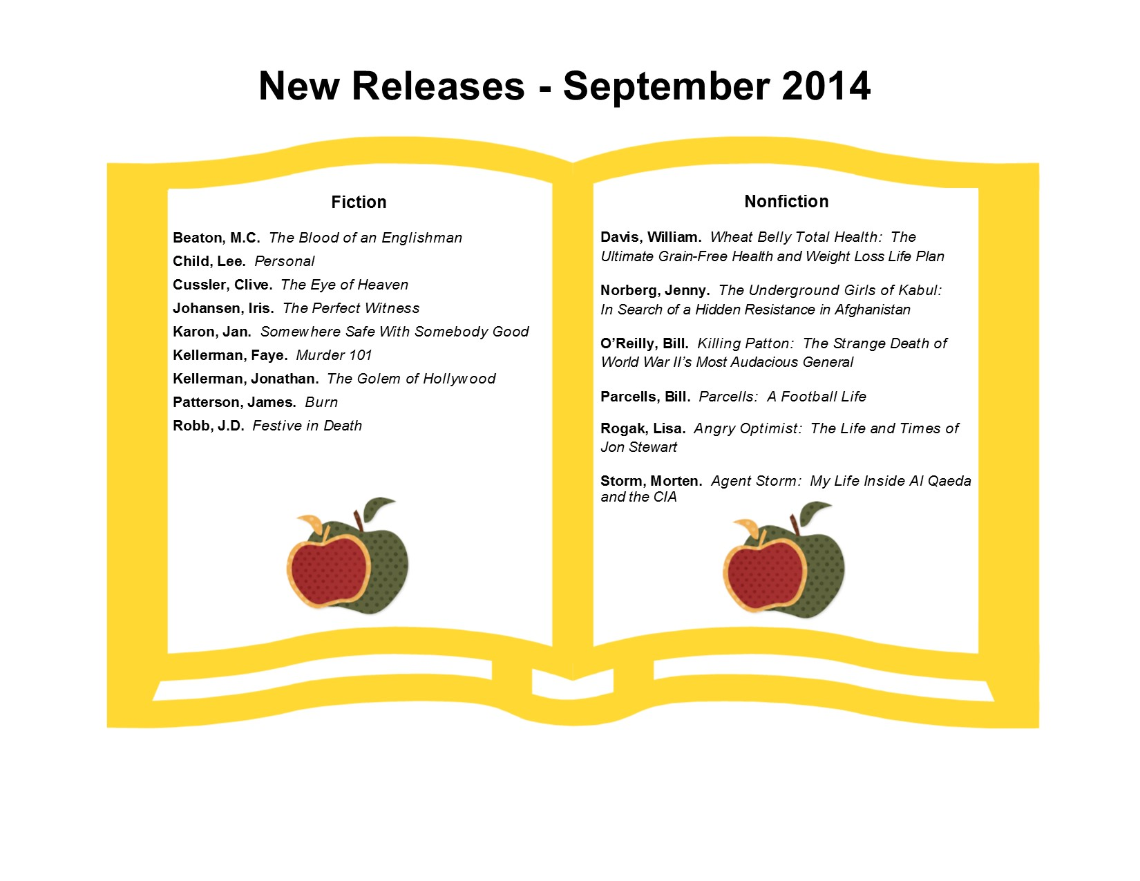New Releases 9-14