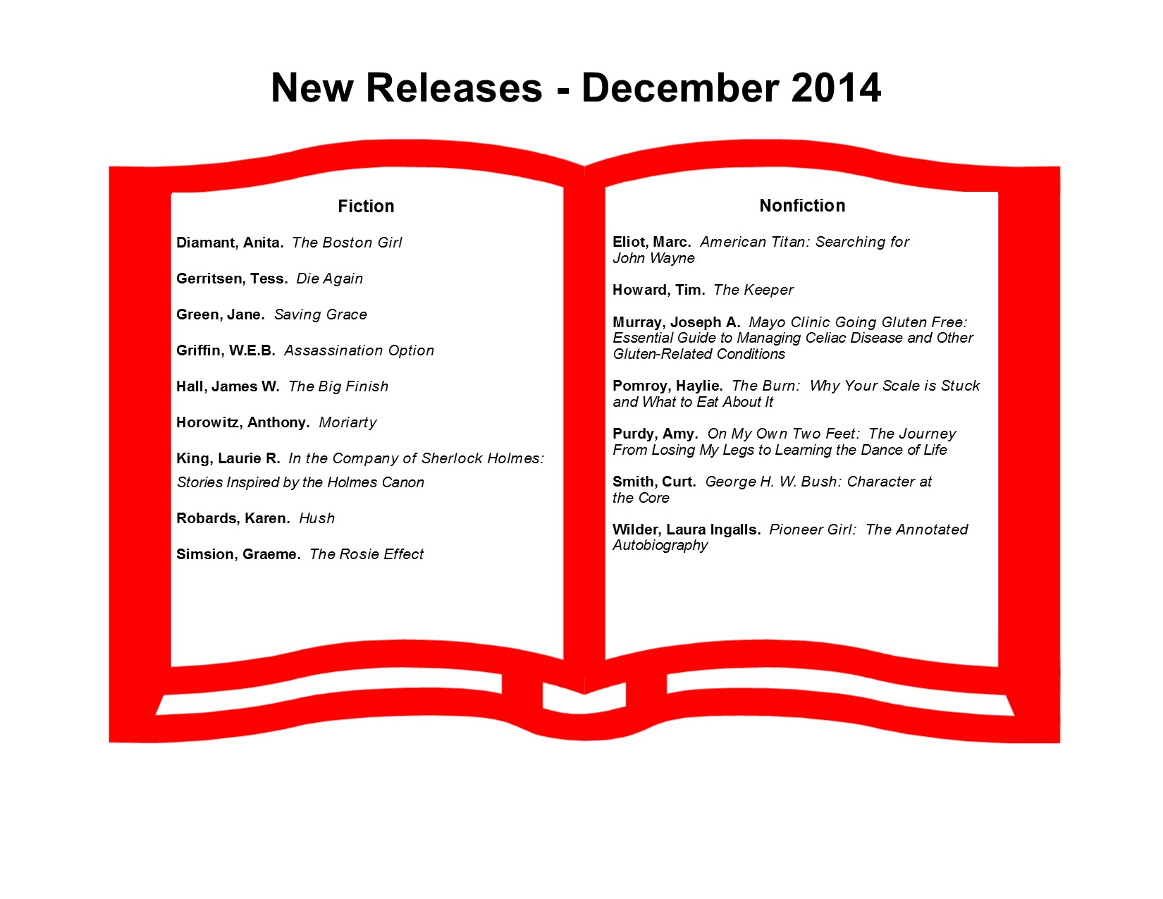 New Releases 12-14