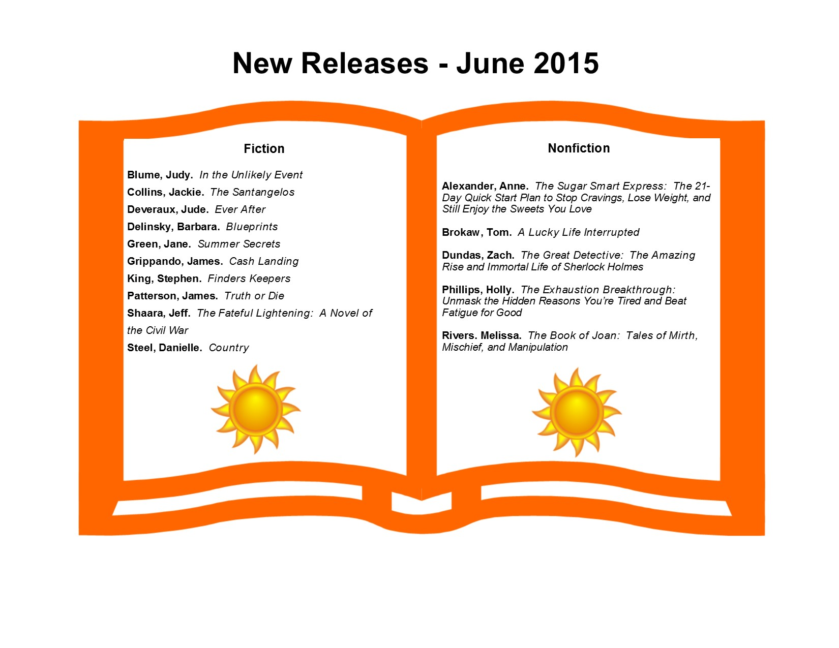 New Releases 6-15
