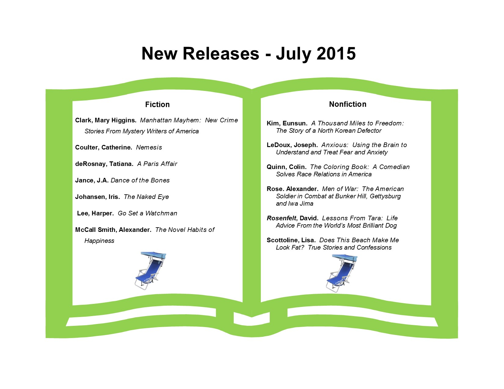 New Releases 7-15