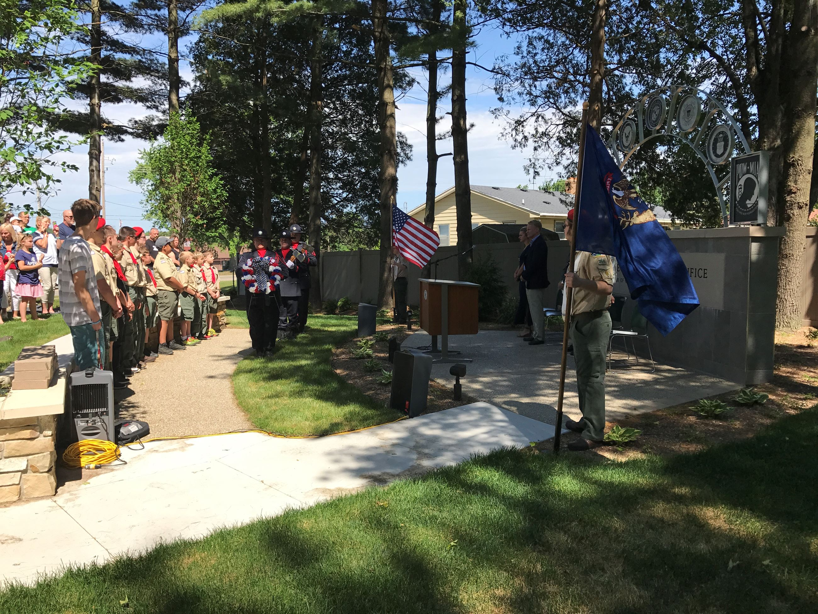 Georgetown Township Memorial Day Service