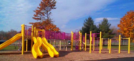 Rush Creek Large Playground and Double Slide
